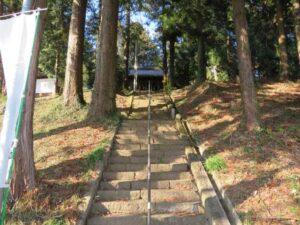 八幡宮参道階段