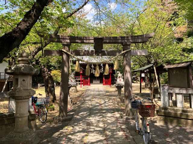 宮子神社鳥居
