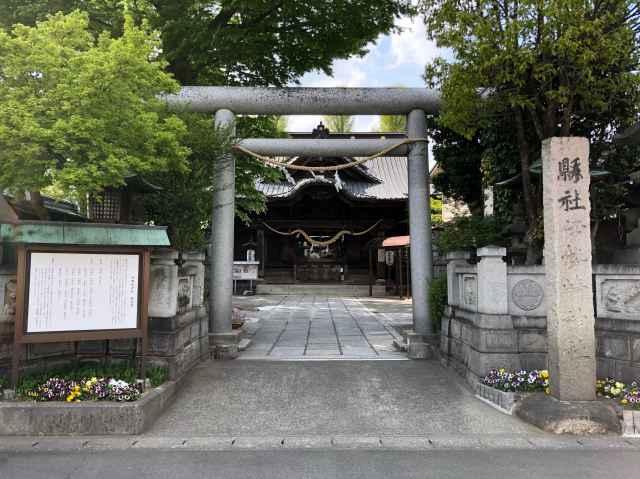 伊勢崎神社鳥居