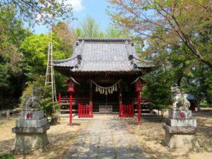 宮子神社拝殿
