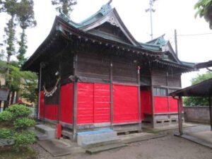久伊豆神社社殿