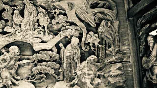 宮子神社御本殿洞羽目