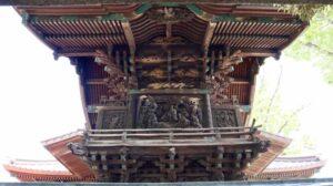 伊勢崎神社御本殿背面