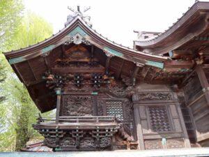 伊勢崎神社御本殿左面