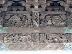 唐獅子と亀