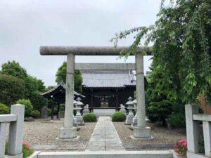 千勝神社鳥居