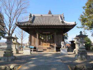 吉井八幡宮拝殿