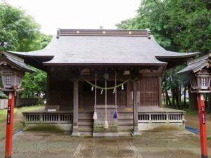 篠津久伊豆神社拝殿