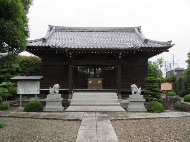 千勝神社拝殿