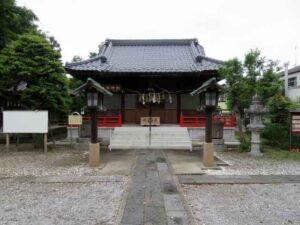 幸宮神社拝殿