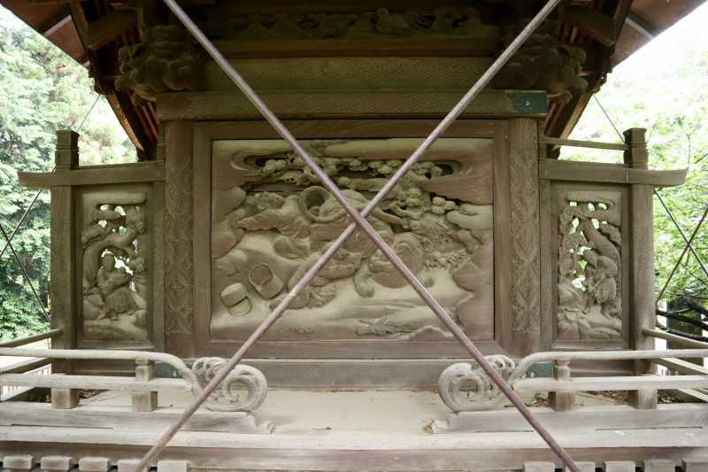 高虫氷川神社御本殿