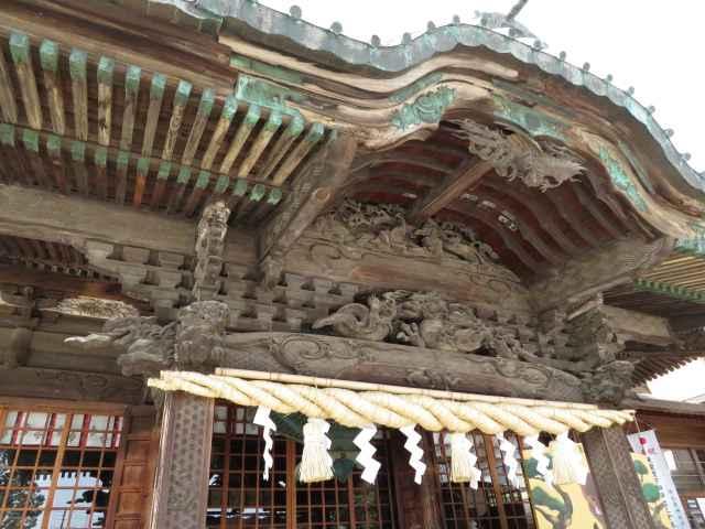 箭弓稲荷神社向拝