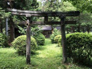 諏訪八幡神社鳥居