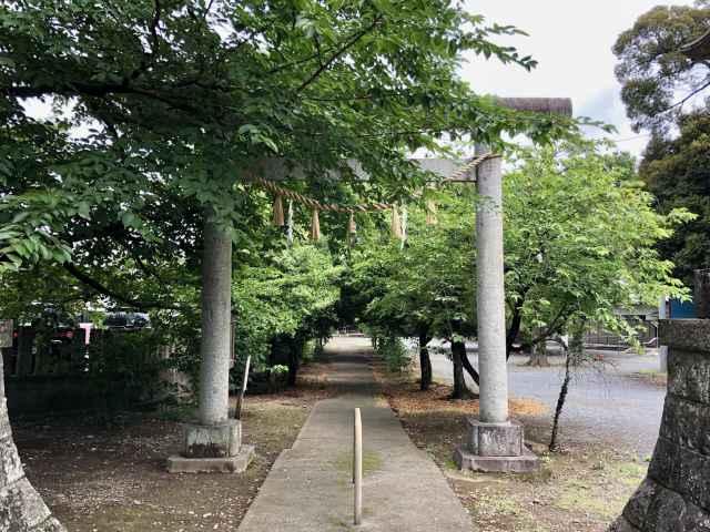 島護産泰神社鳥居