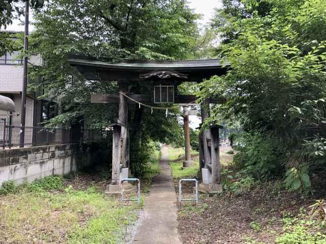 岡部神社鳥居