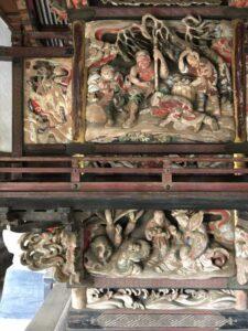 伊奈利大神社御本殿背面