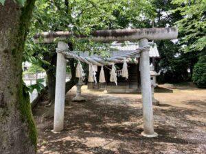 白山神社鳥居