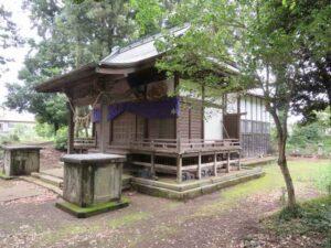 岡部神社社殿