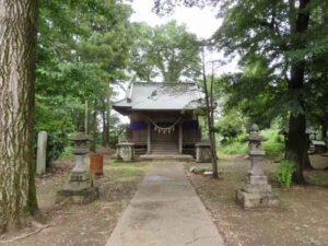 岡部神社拝殿