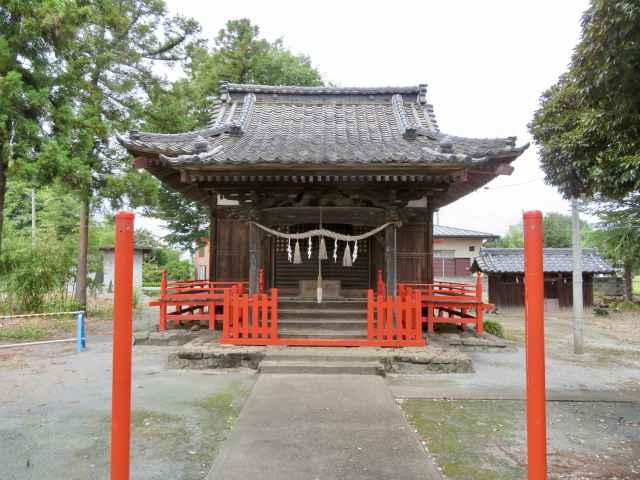 伊奈利大神社拝殿