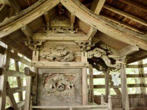 諏訪八幡神社境内社御本殿