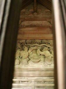 岡部神社御本殿左面