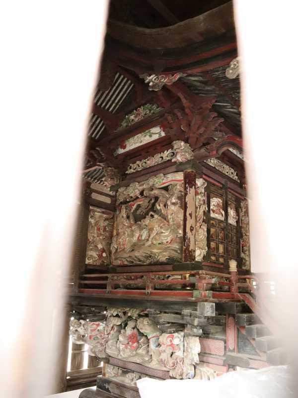 伊奈利大神社御本殿左面