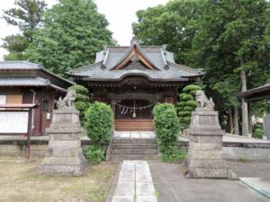 元巣神社拝殿