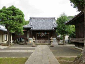 赤塚諏訪神社拝殿