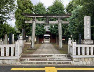 赤塚諏訪神社鳥居