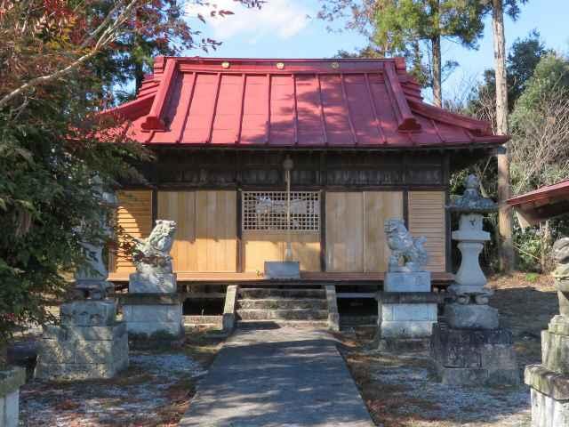 日向神社拝殿