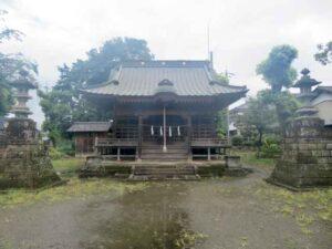 木宮神社拝殿