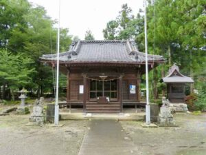 鬼石神社拝殿