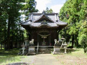 末野神社拝殿