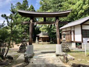 佐田彦神社鳥居