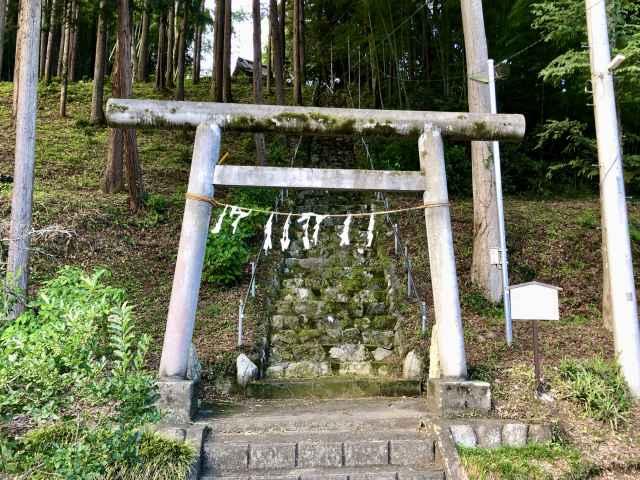 奥沢神社鳥居