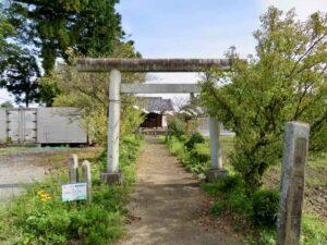 久米田神社鳥居