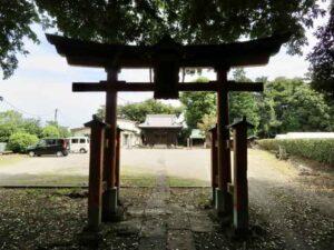 膝子八幡神社鳥居