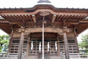 木宮神社拝殿向拝