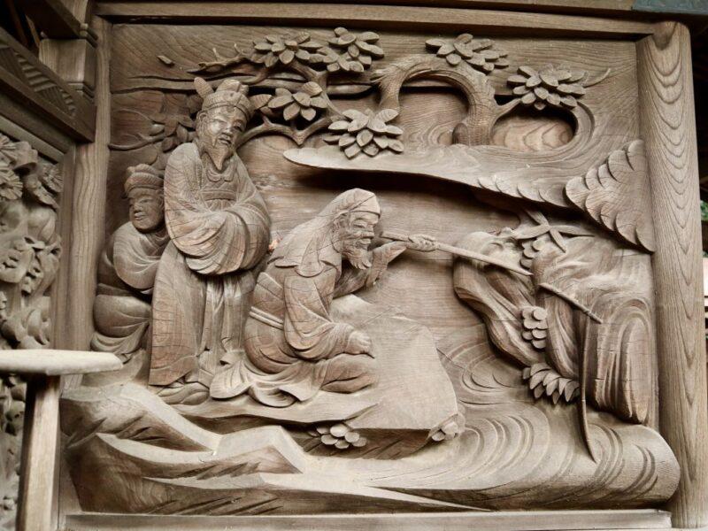 呂尚と文王の邂逅
