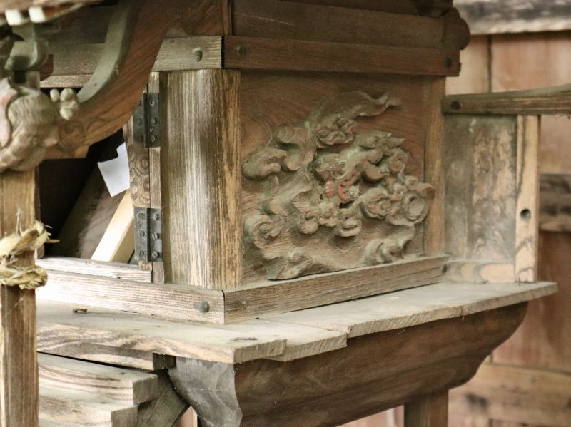 榊神社御本殿身舎