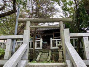 西沢稲荷神社鳥居