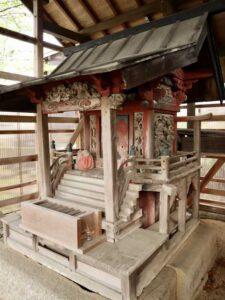 西沢稲荷神社御本殿