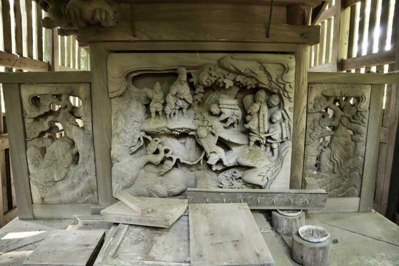 八坂神社御本殿背面